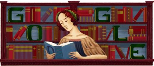Google doodle of Elena Cornaro Piscopia